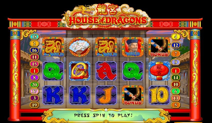 Review & Guide to the House Of Dragons Online Slot Game